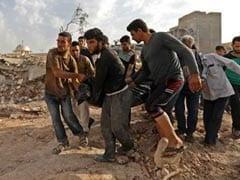 उत्तरी सीरिया पर भारी बमबारी में लगभग 30 लोग मारे गए