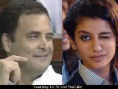 Unsurprisingly, Rahul Gandhi's Viral Wink Reminds Twitter Of Priya Prakash Varrier