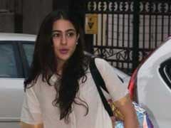 Sara Ali Khan's Love For White Indian Suits Continues