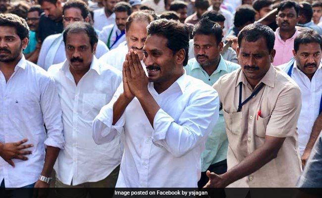 After Poll Victory, Jagan Reddy Says God Has 'Punished' Chandrababu Naidu