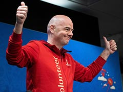 FIFA President Gianni Infantino Thanks Russia For