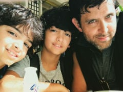 Hrithik Roshan Has A Holiday Motto. So Do His Kids Hrehaan And Hridhaan
