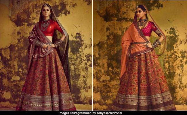 5dec13b5a9f90 Sabyasachi Mukherjee Introduces Pashmina Lehengas For Winter Brides