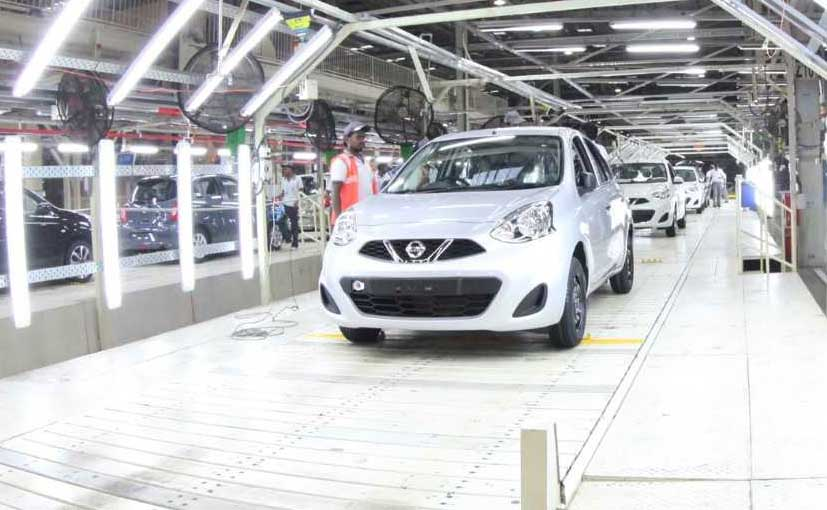 The Chennai plant caters to domestic and export demand for the Nissan & Datsun models