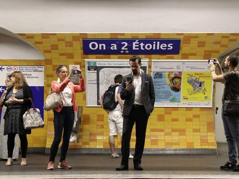 Paris Renames Metro Stations To Honour World Cup Stars