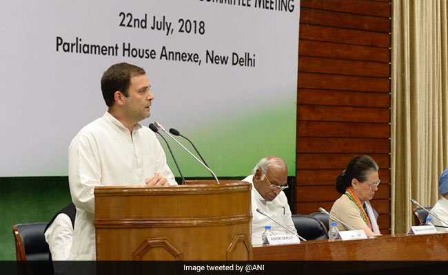 CWC Meet Updates: Meeting Ends With Rahul Gandhi Getting Mandate To Form Alliances