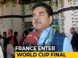Video : When Shotgun Sinha's Cheering For Belgium Couldn't 'Khamosh' France