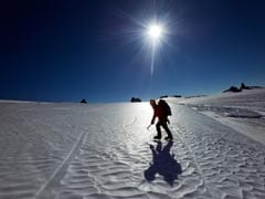 Two Indians In All Women South Pole Expedition