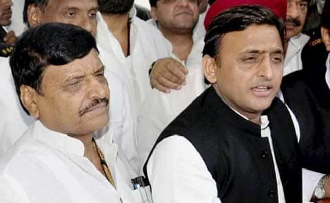 As Uncle Shivpal Floats Outfit, That Funny Feeling For Akhilesh Yadav