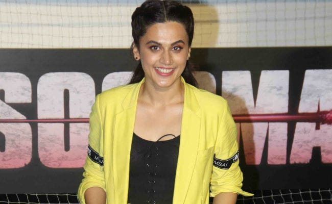 Soorma Actress Taapsee Pannu Says 'Times Have Changed For Outsiders In Bollywood'