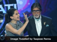 Amitabh Bachchan Is  An Ace Co-Actor, Says <i>Badla</i> Actress Taapsee Pannu