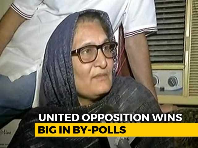 Video : Tabassum Hasan, The Face Of Opposition's Big Win Against BJP In Kairana