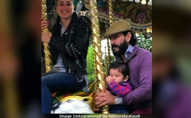 Some More Pics From Taimur, Kareena Kapoor And Saif Ali Khan's London Vacation