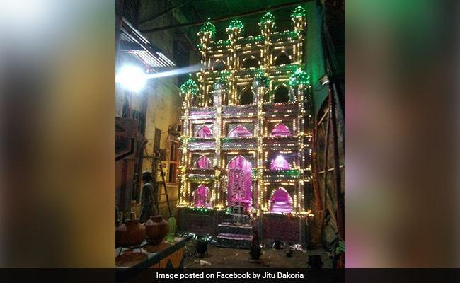 मुस्लिम कलाकार हिन्दुओं के लिए बनाते हैं ताजिया वाले मंडप, शादी-पार्टी में होता है खूब इस्तेमाल