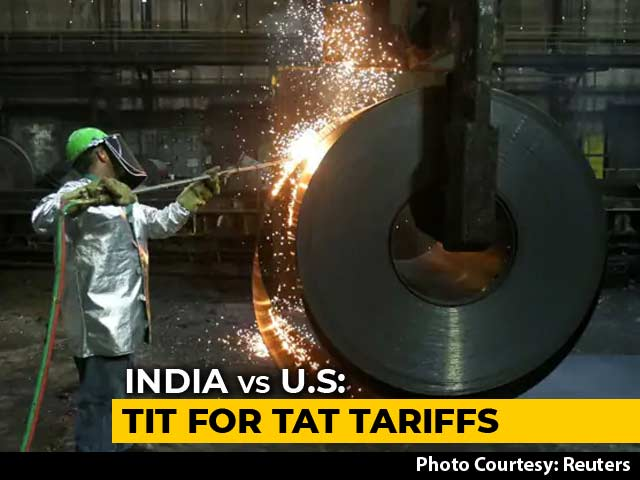 Video : India Retaliates With Higher Import Duties On US Farm, Steel Products