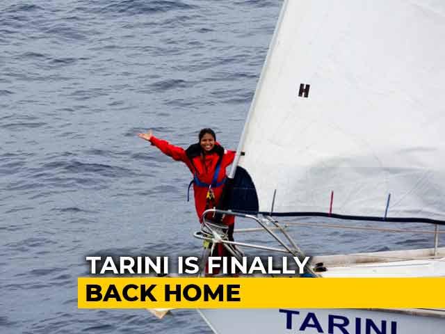 "Video : ""Daring To Dream Big"": The Successful All-Women Crew Of Tarini Returns"