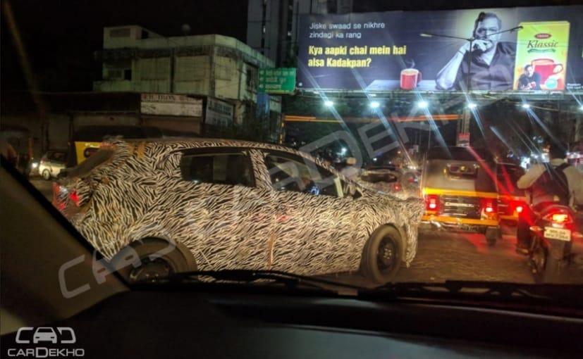 tata 45x premium hatchback spotted