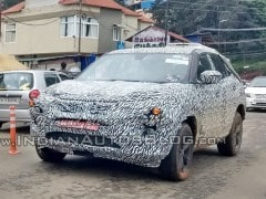 Tata H5X Prototype Spotted Testing In India Again