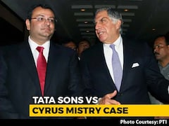 Video: No Merit In Cyrus Mistry's Case Against Sacking As Tata Chairman: Court