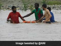 On Camera, 6 Rescued From Overflowing Tawi River In Jammu
