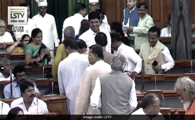 BJD Stages Walkout In Lok Sabha As Discussion On No-Trust Motion Begins