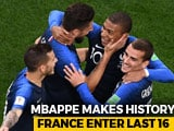 Video : FIFA World Cup 2018, Day 8: France Reach Last 16, Croatia Stun Argentina