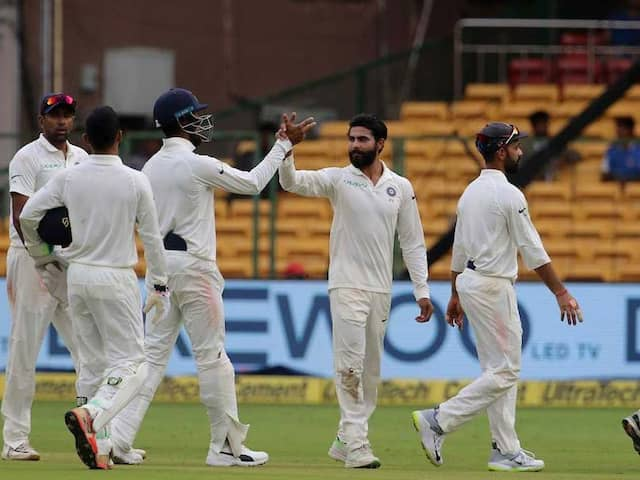 India vs Afghanistan One-Off Tests second days play Live at Chinnaswamy Stadium, Bengaluru