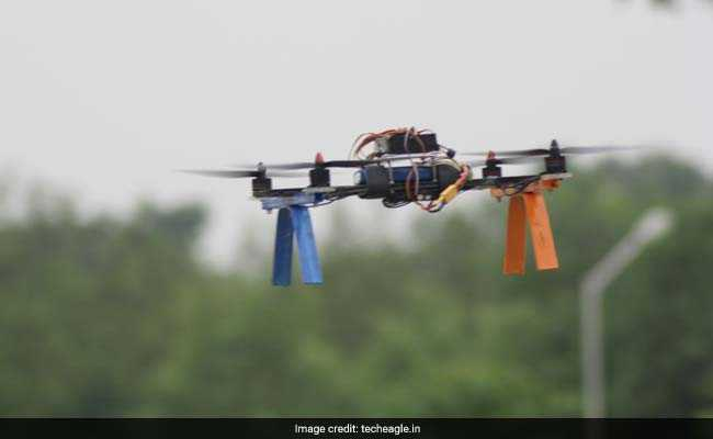 This Lucknow Start-Up Is Designing Drones To Deliver Tea At Your Home