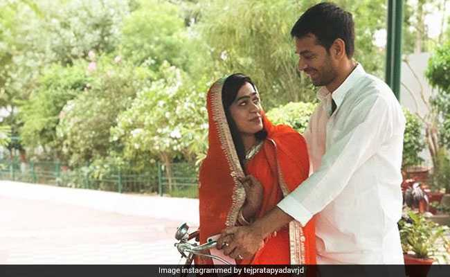 First Post-Wedding Picture of Tej Pratap, Wife Aishwarya Surfaces On Instagram