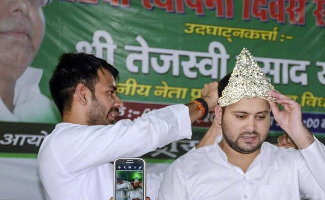 Attempt To Create Rift Between 'Krishna, Balram': Tej Pratap On Brother