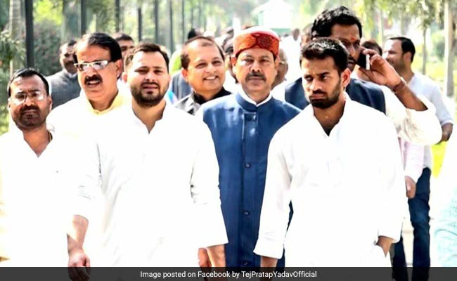 Tejashwi Yadav Denies Rift With Brother Tej Pratap, Calls Him His Guide