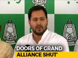 Video : Door Is Closed For Nitish Kumar, Says Tejashwi Yadav, As Call Sparks Buzz