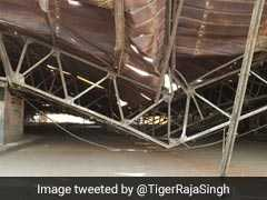 88-Year-Old Iconic Mississippi Aircraft Hangar Collapses In Hyderabad