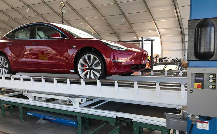 Tesla Model 3 Dual Motor Performance version is priced at Rs. 53.02 lakh