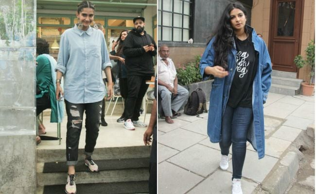 Sisters Sonam And Rhea Kapoor's Weekend Style In Chic Denim