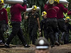 100 'Chimneys' Drilled Into Mountain In Bid To Reach Trapped Thai Boys