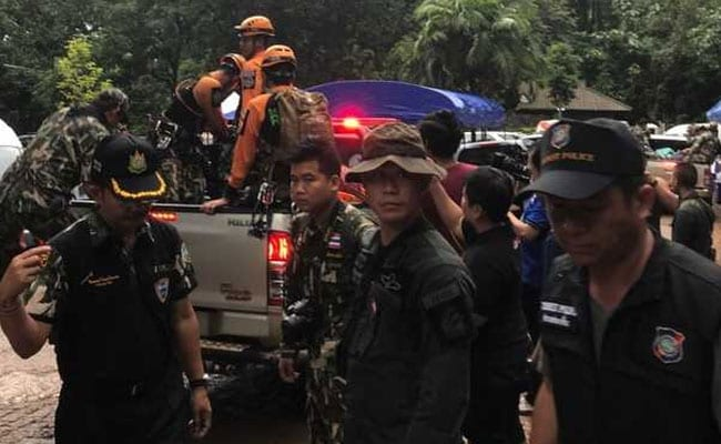 Underwater Rescue Halted For Children Trapped In Thai Cave
