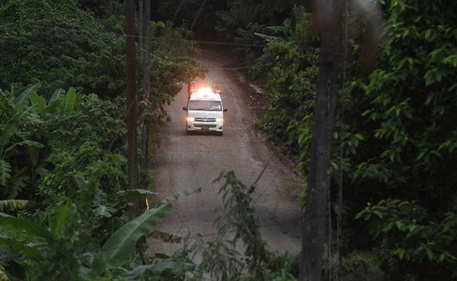 Thai official: 4 boys brought out of cave Monday