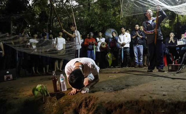 'Come Home': Crying Parents Outside Cave Where 12 Children Are Trapped