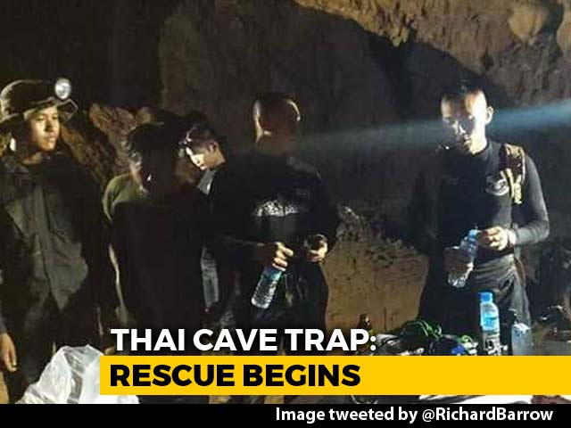 Video : A Breakdown Of Rescue Team's Plan To Evacuate Thai Boys From Cave