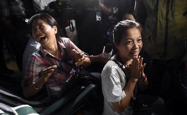 tham luang chiang rai thailand cave rescue afp