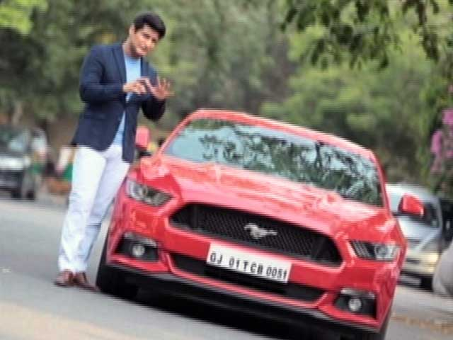 Video : A Ride In The Ford Mustang