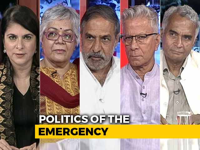 Video : The NDTV Dialogues: 43 Years On, The Politics Of Emergency