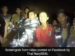 "New Navy Video Shows Thai Boys Trapped In Cave In ""Good Health"""