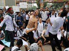 Bangladesh Police Use Tear Gas To Disperse Protesting Students