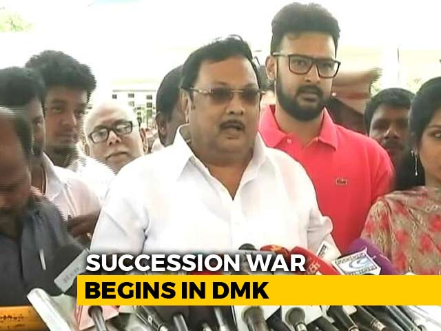 Video : Ahead Of DMK Meet, Crucial For Stalin, Brother Alagiri Flexes Muscle