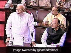 "Now Everything ""<i>Hari-Kripa</i>"" In Rajya Sabha, Quips PM Modi"