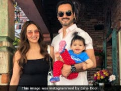 The Star Of Esha Deol And Bharat Takhtani's Vacation Pics Is Their 'Bome' Radhya