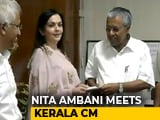 Video : Nita Ambani Visits Kerala, Donates For Flood Rehabilitation