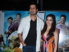 Pics Of Sumeet Vyas And Girlfriend Ekta Kaul From <i>Karwaan</i> Screening